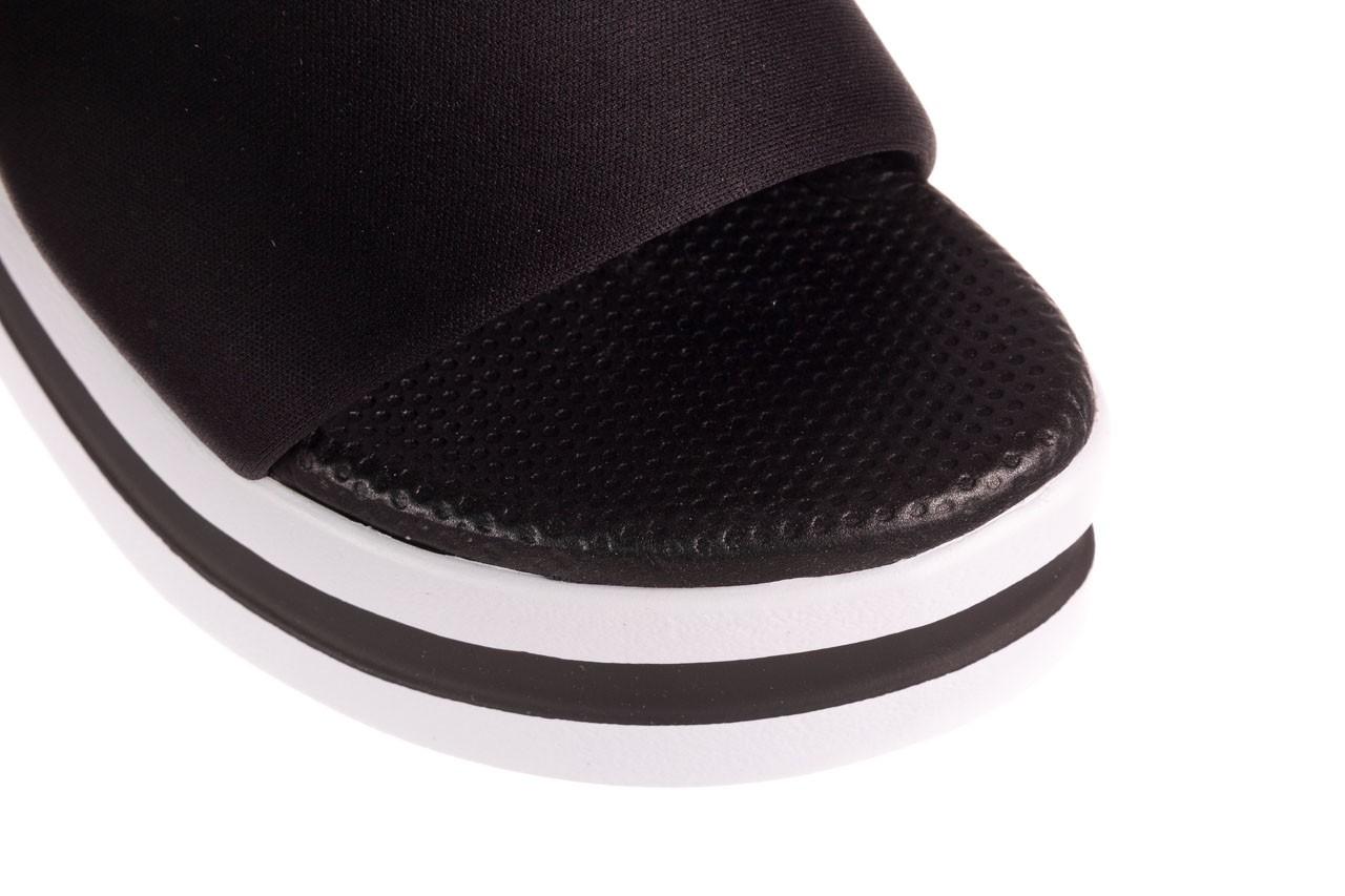 Klapki dijean 485 359 black, czarny, materiał  - klapki - dla niej  - sale 12