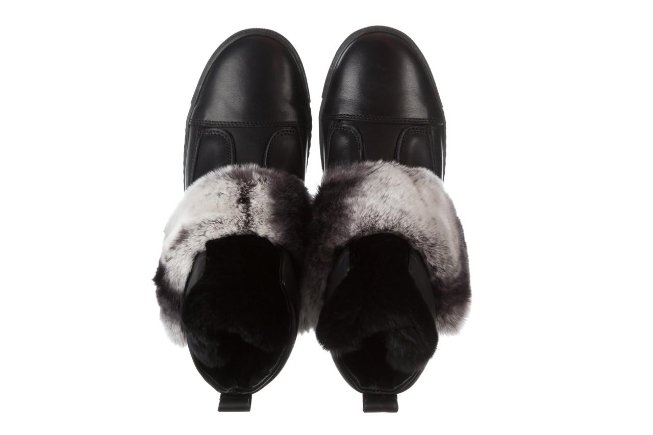 Śniegowce bayla 161 017 2021 02 black 161161, czarny, skóra naturalna  - śniegowce - śniegowce i kalosze - buty damskie - kobieta 17
