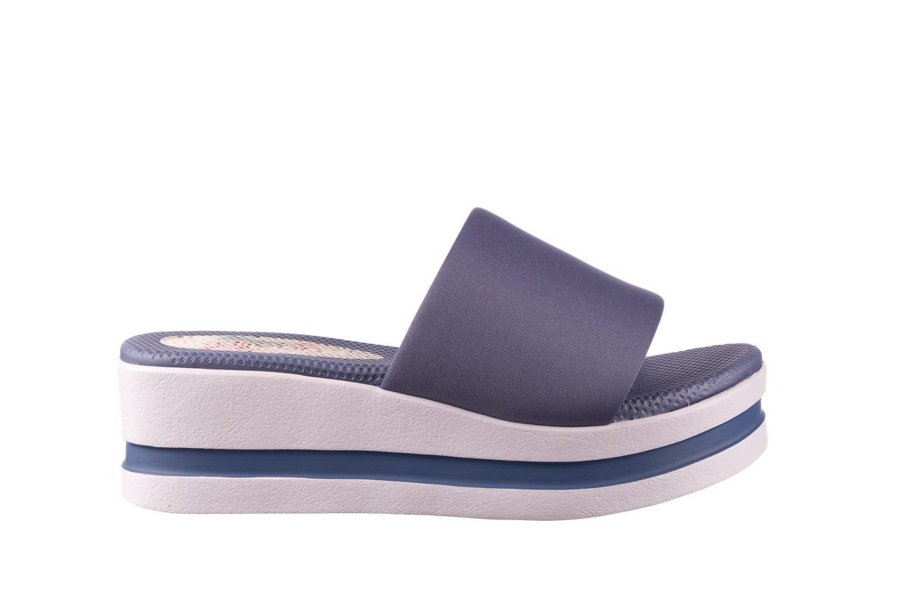Klapki dijean 485 359 maritime, niebieski, materiał - klapki - buty damskie - kobieta 7
