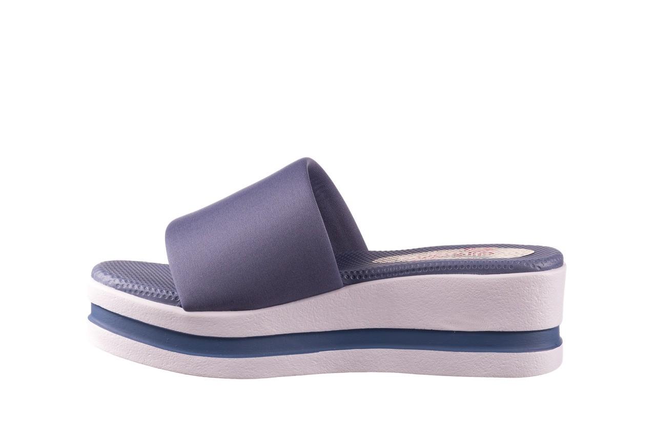 Klapki dijean 485 359 maritime, niebieski, materiał - klapki - buty damskie - kobieta 9