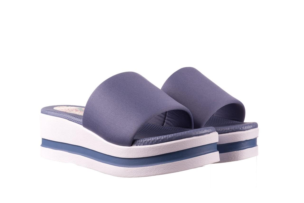 Klapki dijean 485 359 maritime, niebieski, materiał - klapki - buty damskie - kobieta 8