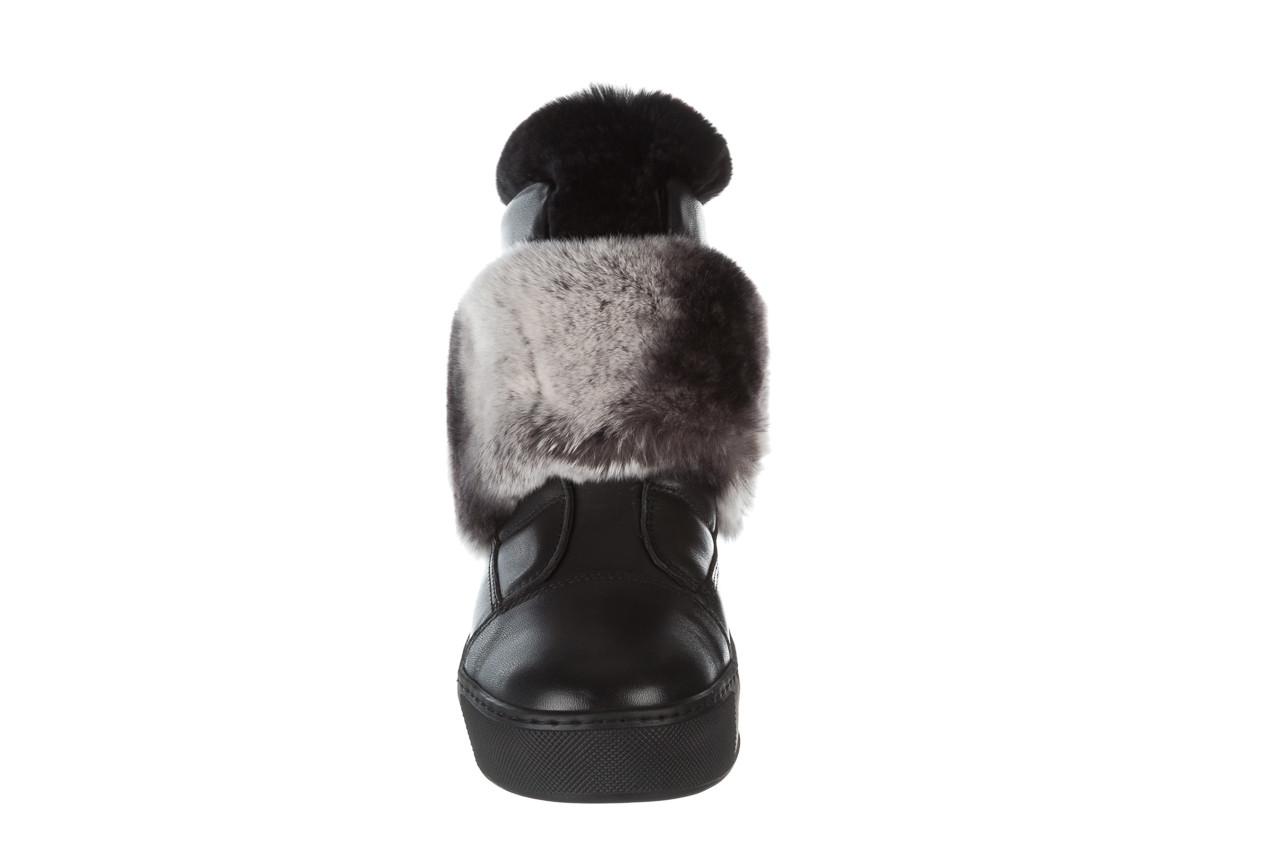 Śniegowce bayla 161 017 2021 02 black 161161, czarny, skóra naturalna  - śniegowce - śniegowce i kalosze - buty damskie - kobieta 20