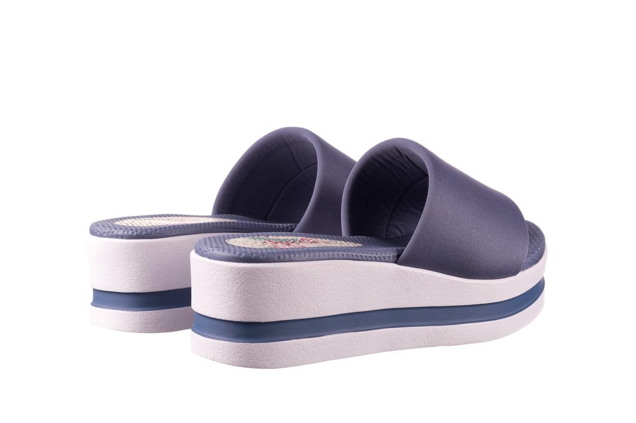 Klapki dijean 485 359 maritime, niebieski, materiał - klapki - buty damskie - kobieta 10