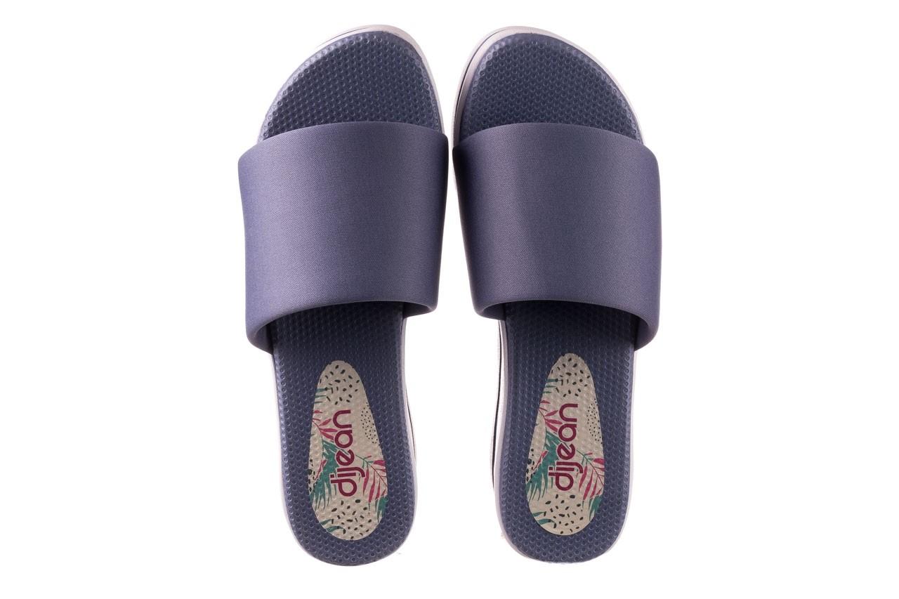 Klapki dijean 485 359 maritime, niebieski, materiał - klapki - buty damskie - kobieta 11