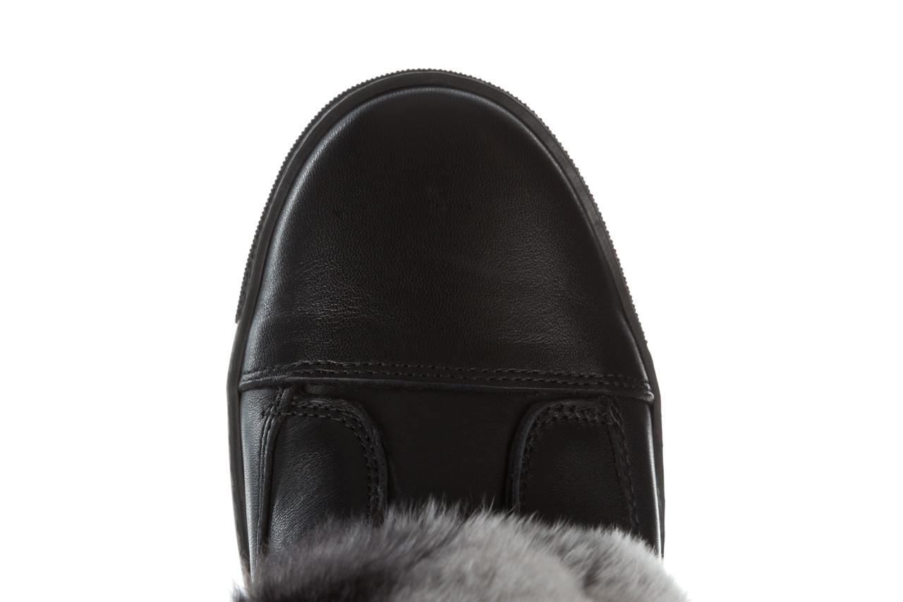 Śniegowce bayla 161 017 2021 02 black 161161, czarny, skóra naturalna  - śniegowce - śniegowce i kalosze - buty damskie - kobieta 23