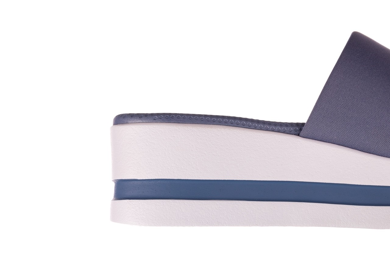 Klapki dijean 485 359 maritime, niebieski, materiał - klapki - buty damskie - kobieta 13