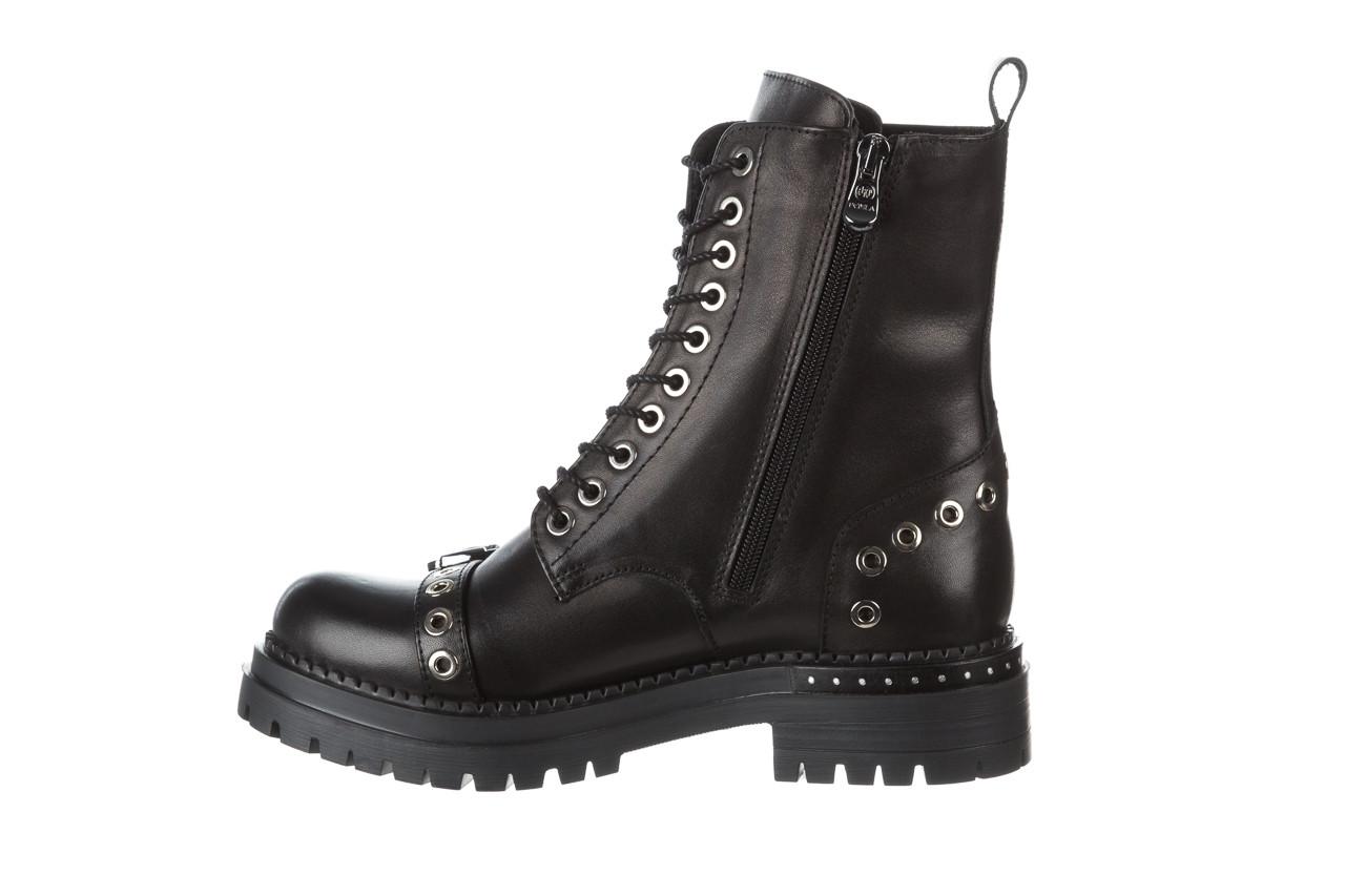 Trzewiki bayla 161 050 7255  01 black 161176, czarny, skóra naturalna  - trzewiki - buty damskie - kobieta 15