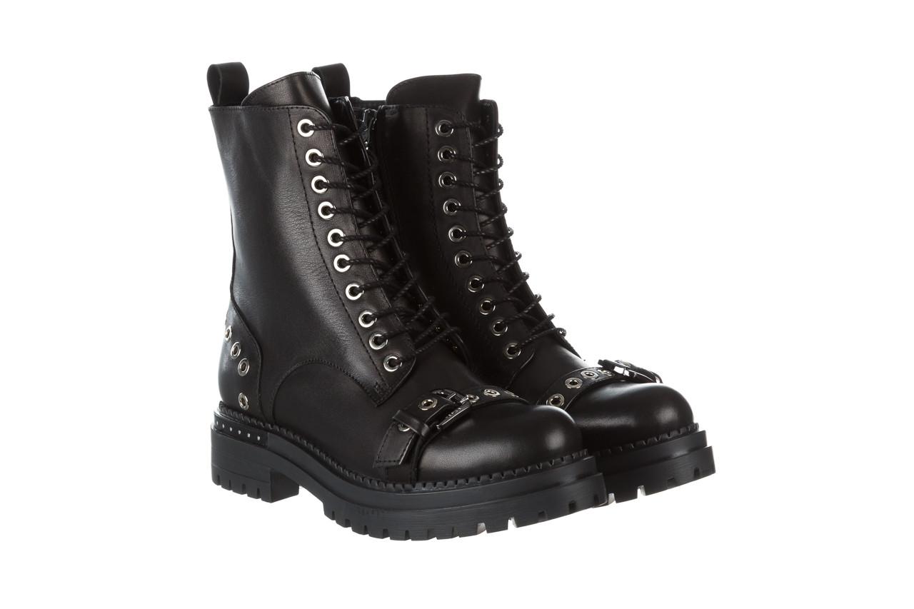 Trzewiki bayla 161 050 7255  01 black 161176, czarny, skóra naturalna  - trzewiki - buty damskie - kobieta 13