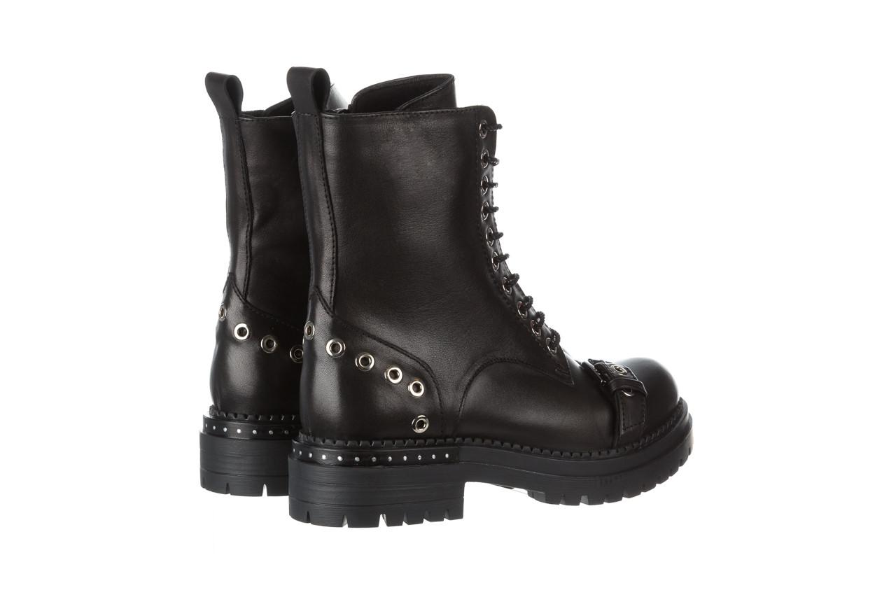 Trzewiki bayla 161 050 7255  01 black 161176, czarny, skóra naturalna  - trzewiki - buty damskie - kobieta 16