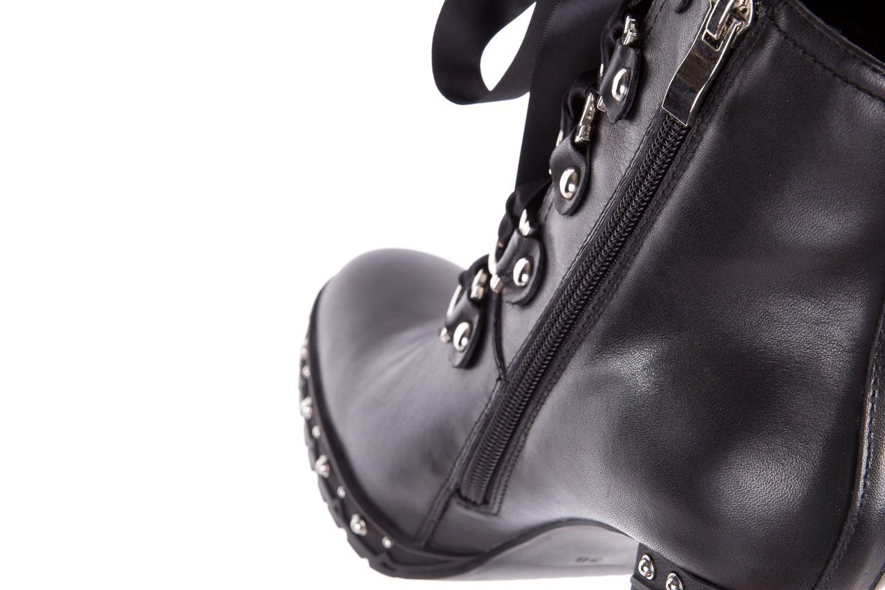 Botki bayla-144 9308 czarne botki 144020, skóra naturalna - skórzane - botki - buty damskie - kobieta 17