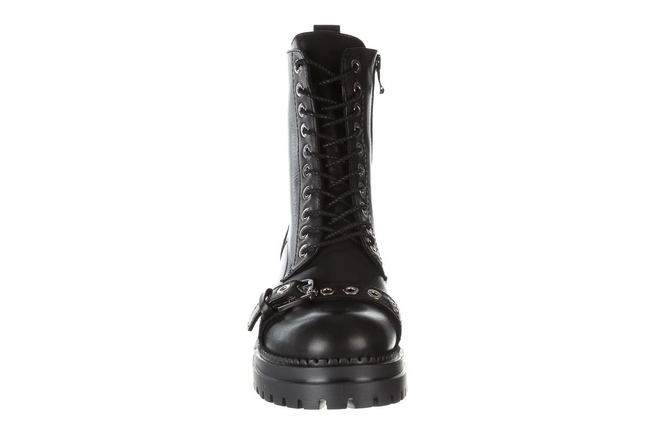 Trzewiki bayla 161 050 7255  01 black 161176, czarny, skóra naturalna  - trzewiki - buty damskie - kobieta 20