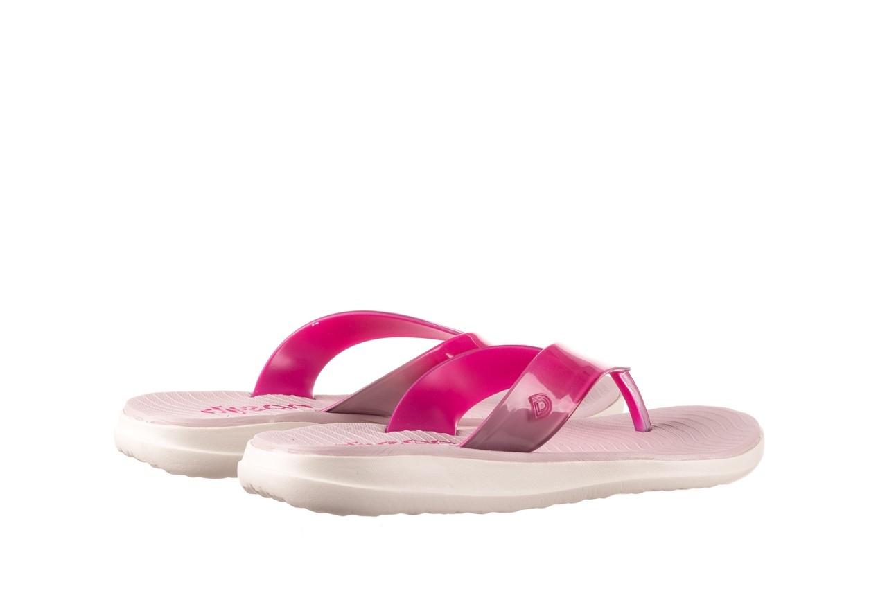 Klapki dijean 285 368 cereja cherry degrade, róż, guma - gumowe/plastikowe - klapki - buty damskie - kobieta 10