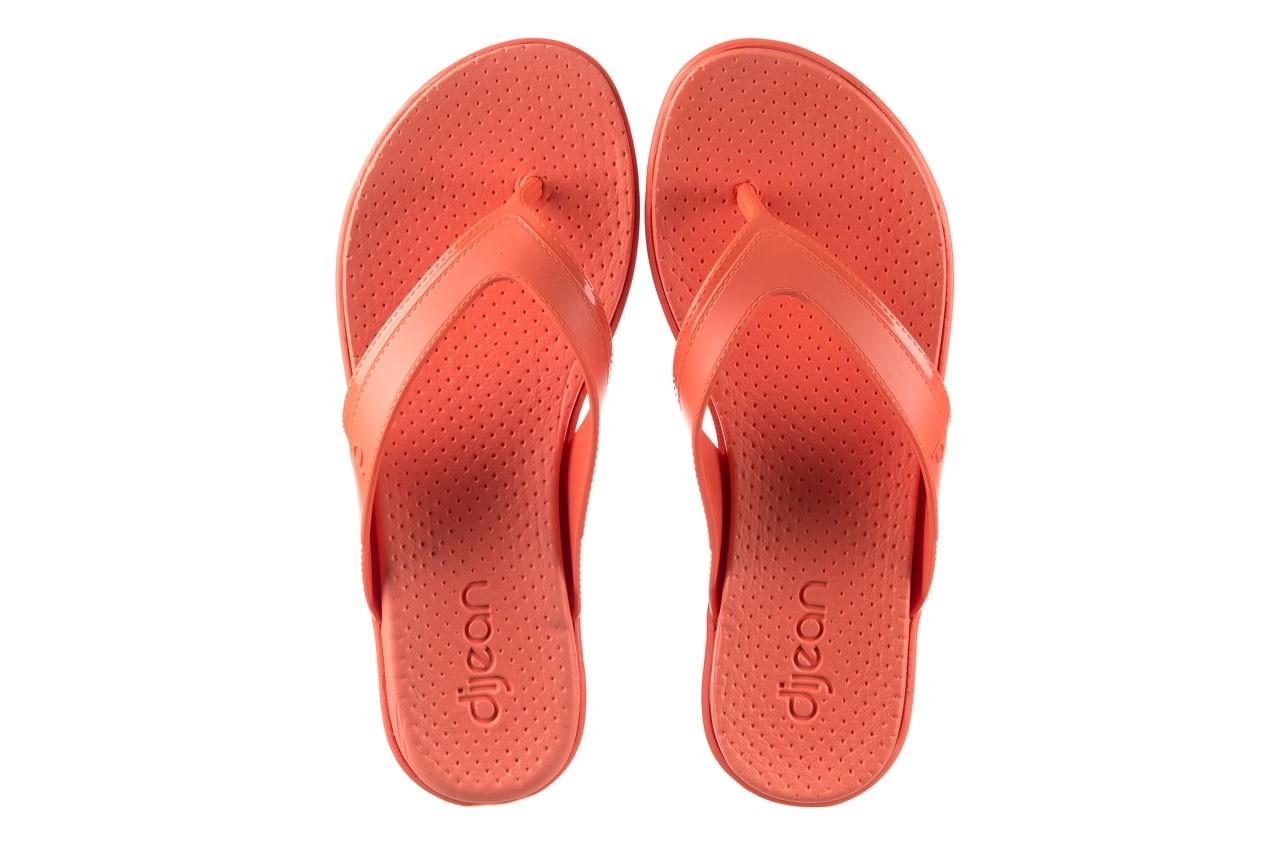 Klapki dijean 286 248 coral coral, róż, guma - klapki - buty damskie - kobieta 11
