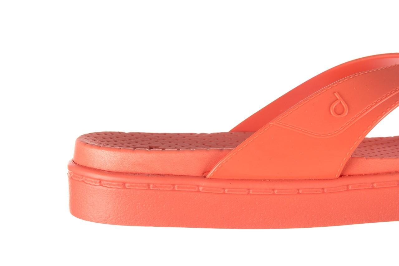 Klapki dijean 286 248 coral coral, róż, guma - klapki - buty damskie - kobieta 13