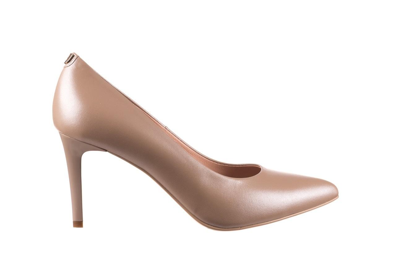 Czółenka bayla-056 1816-1421 beż 20, skóra naturalna  - skórzane - czółenka - buty damskie - kobieta 7