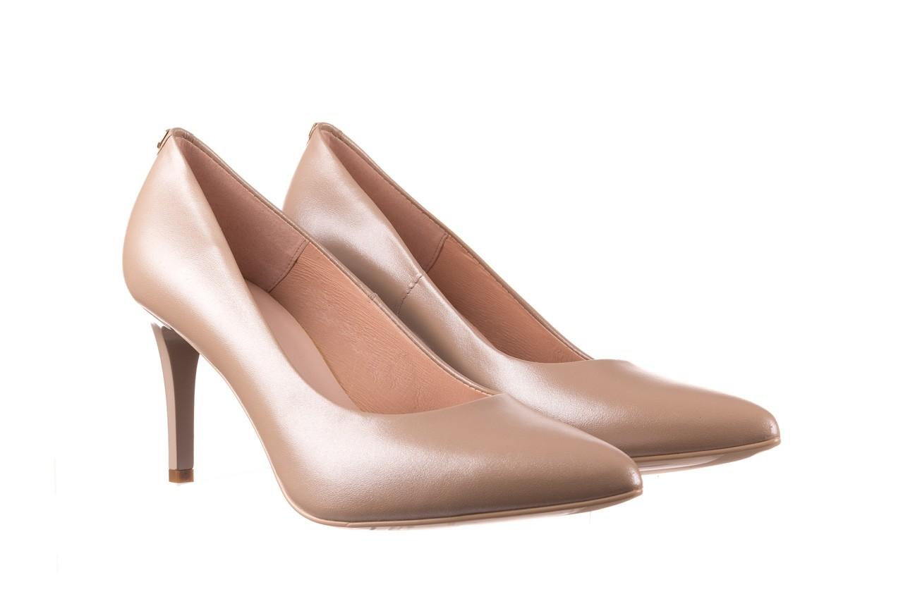 Czółenka bayla-056 1816-1421 beż 20, skóra naturalna  - skórzane - czółenka - buty damskie - kobieta 8