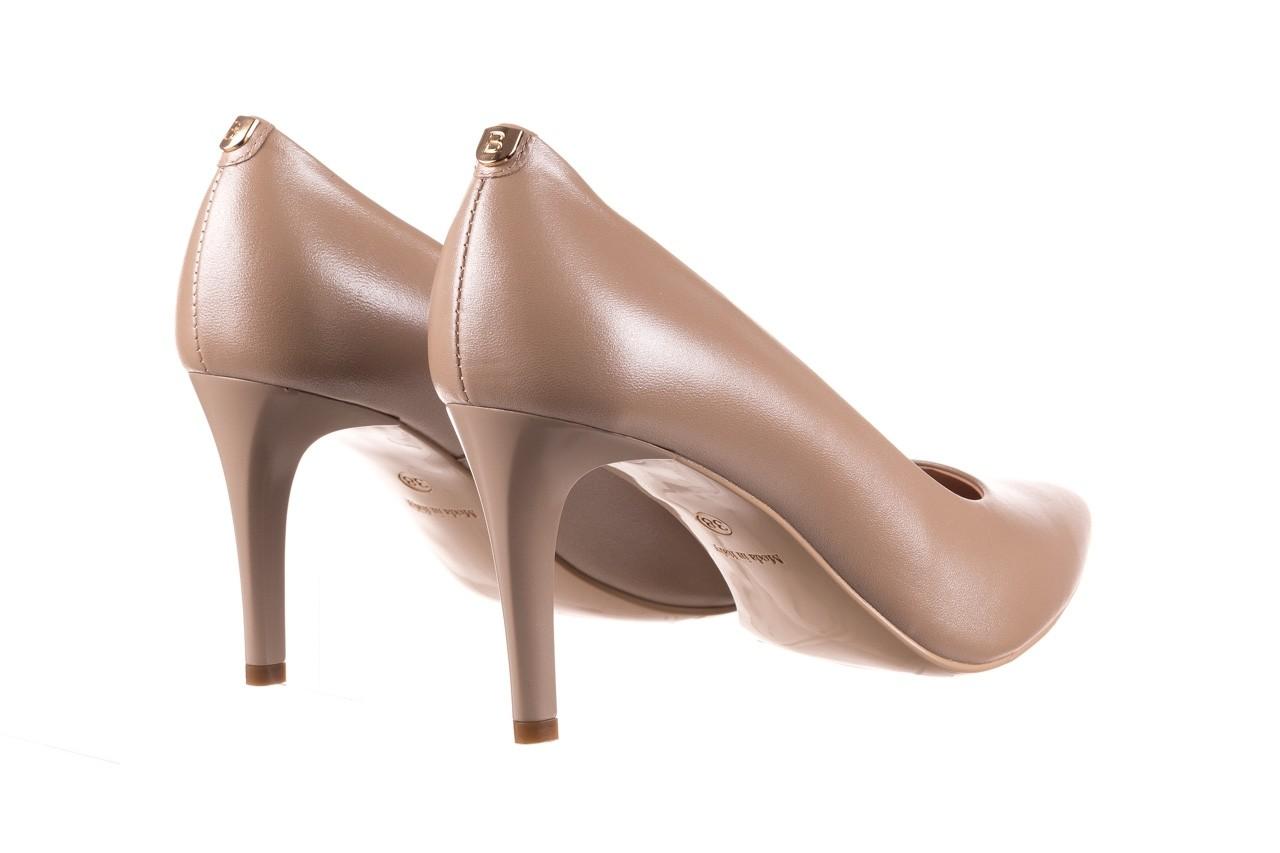 Czółenka bayla-056 1816-1421 beż 20, skóra naturalna  - skórzane - czółenka - buty damskie - kobieta 10