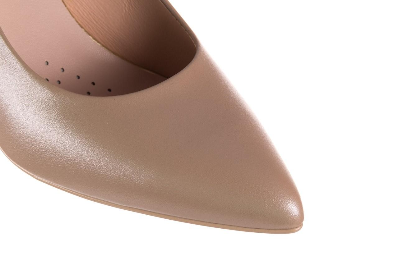 Czółenka bayla-056 1816-1421 beż 20, skóra naturalna  - skórzane - czółenka - buty damskie - kobieta 12