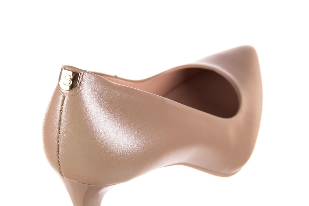 Czółenka bayla-056 1816-1421 beż 20, skóra naturalna  - skórzane - czółenka - buty damskie - kobieta 13