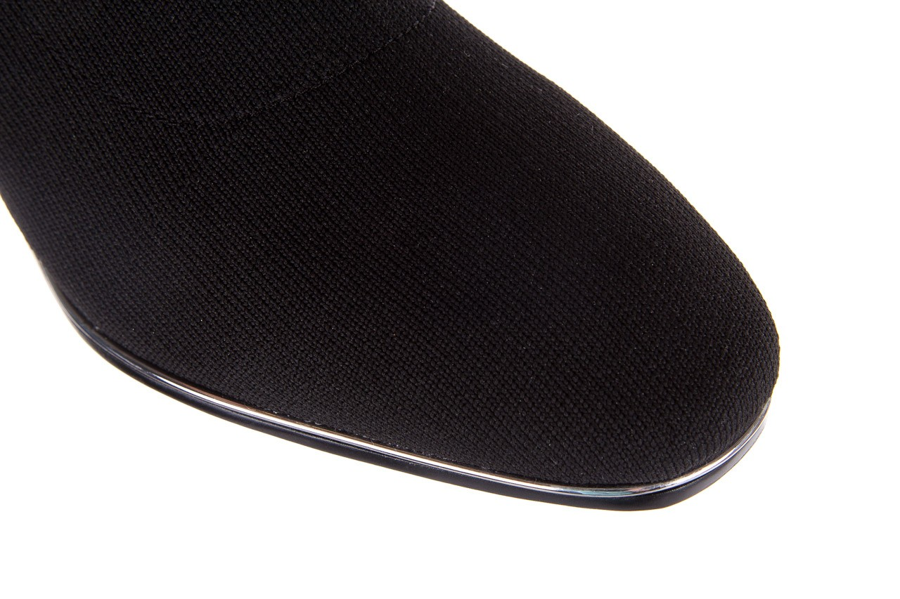 Botki sca'viola b-88 black, czarny, materiał - sca`viola - nasze marki 14