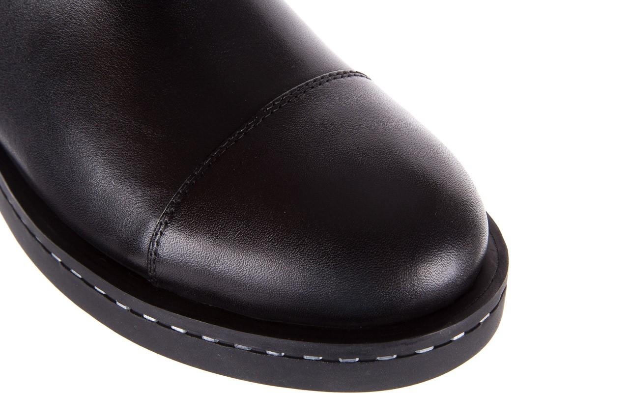 Botki bayla-144 9304 czarne botki, skóra naturalna  - bayla - nasze marki 19