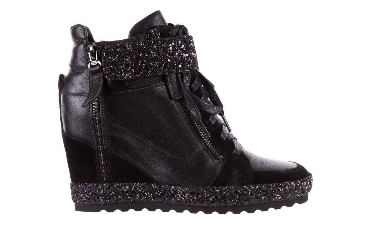 Sneakersy bayla-144 9302 czarne sneakersy, skóra naturalna  - bayla - nasze marki 9