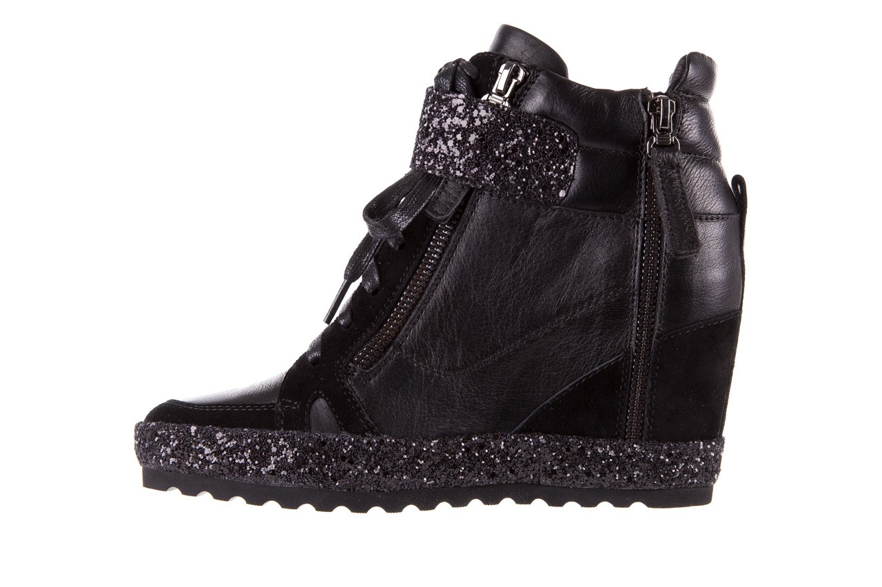 Sneakersy bayla-144 9302 czarne sneakersy, skóra naturalna  - bayla - nasze marki 12