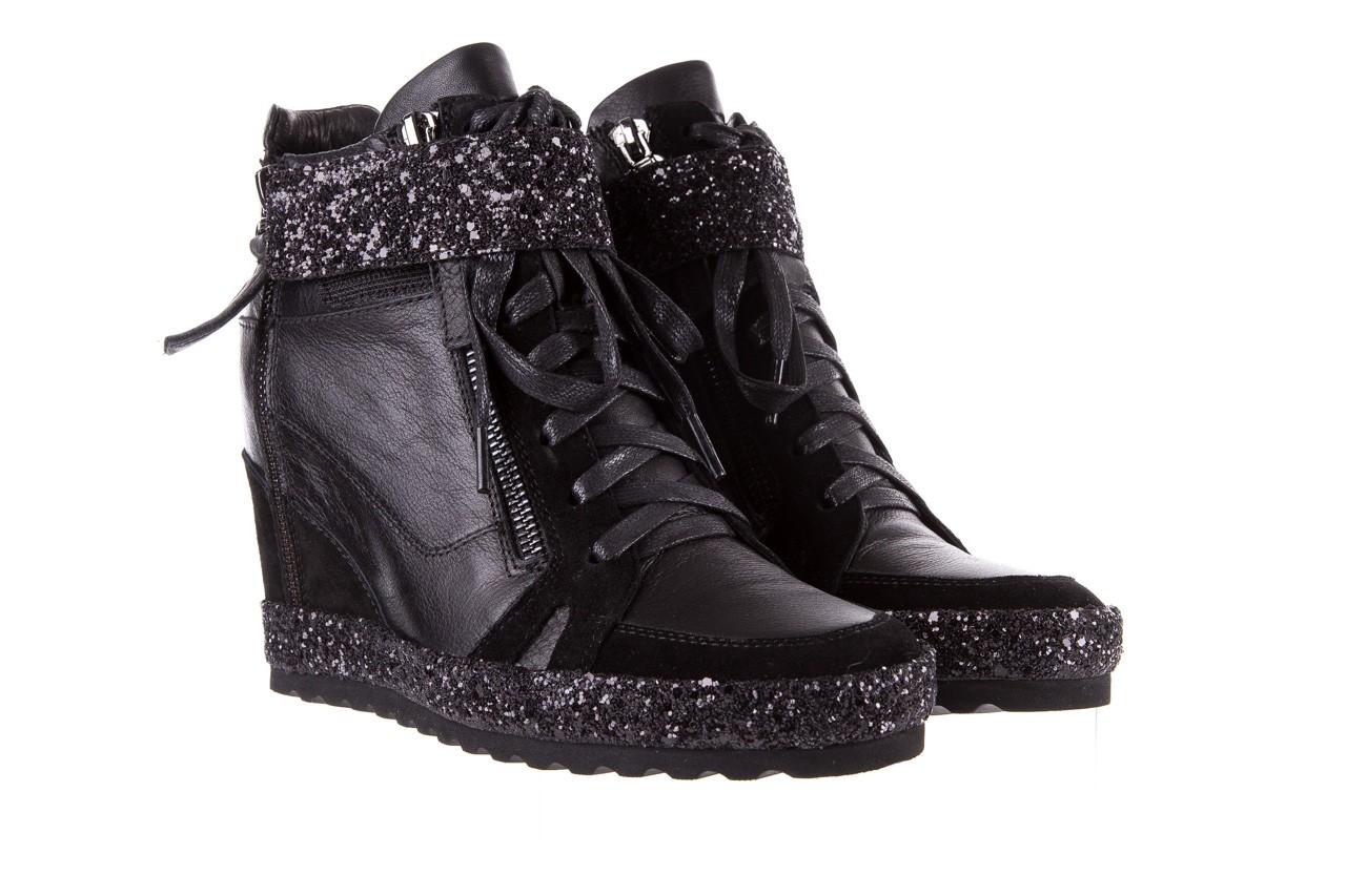 Sneakersy bayla-144 9302 czarne sneakersy, skóra naturalna  - bayla - nasze marki 10