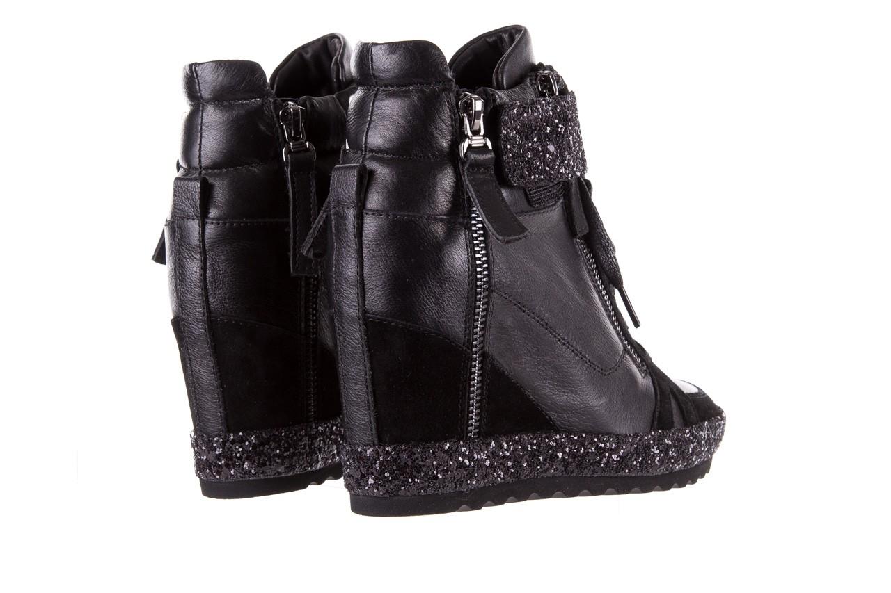 Sneakersy bayla-144 9302 czarne sneakersy, skóra naturalna  - bayla - nasze marki 13