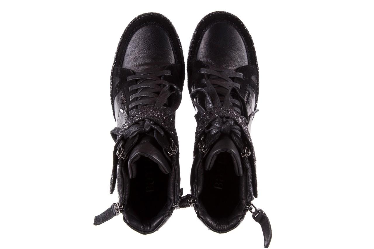 Sneakersy bayla-144 9302 czarne sneakersy, skóra naturalna  - bayla - nasze marki 14