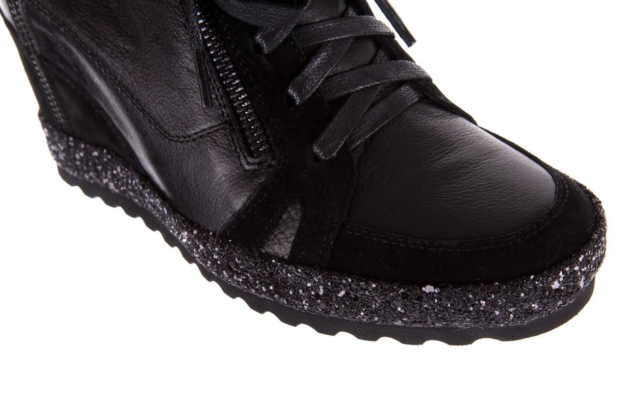 Sneakersy bayla-144 9302 czarne sneakersy, skóra naturalna  - bayla - nasze marki 17
