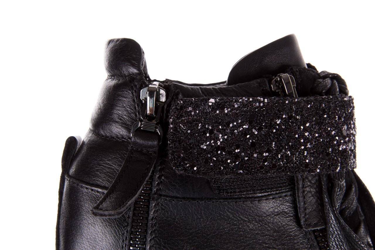 Sneakersy bayla-144 9302 czarne sneakersy, skóra naturalna  - bayla - nasze marki 16