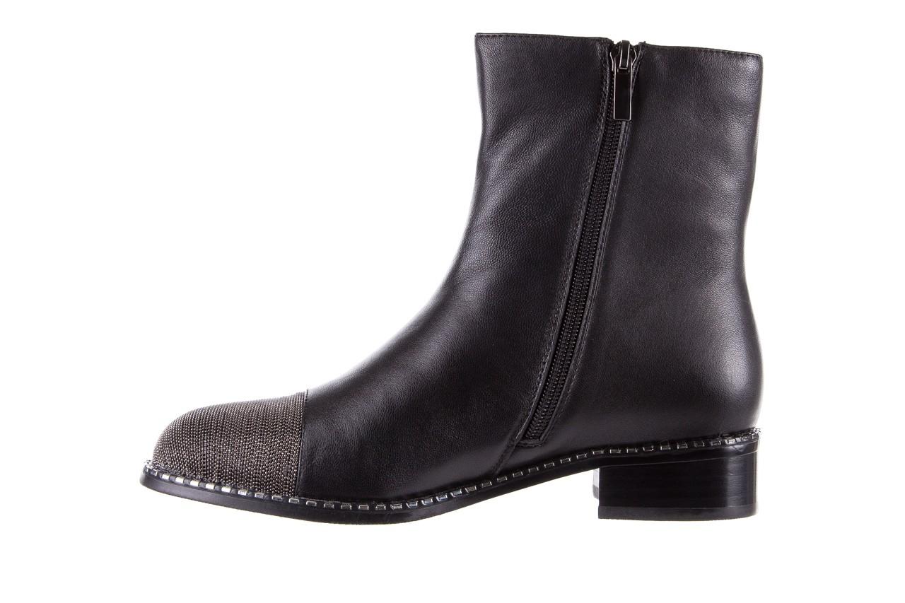 Botki sca'viola f-93 black, czarny, skóra naturalna  - sztyblety - botki - buty damskie - kobieta 14