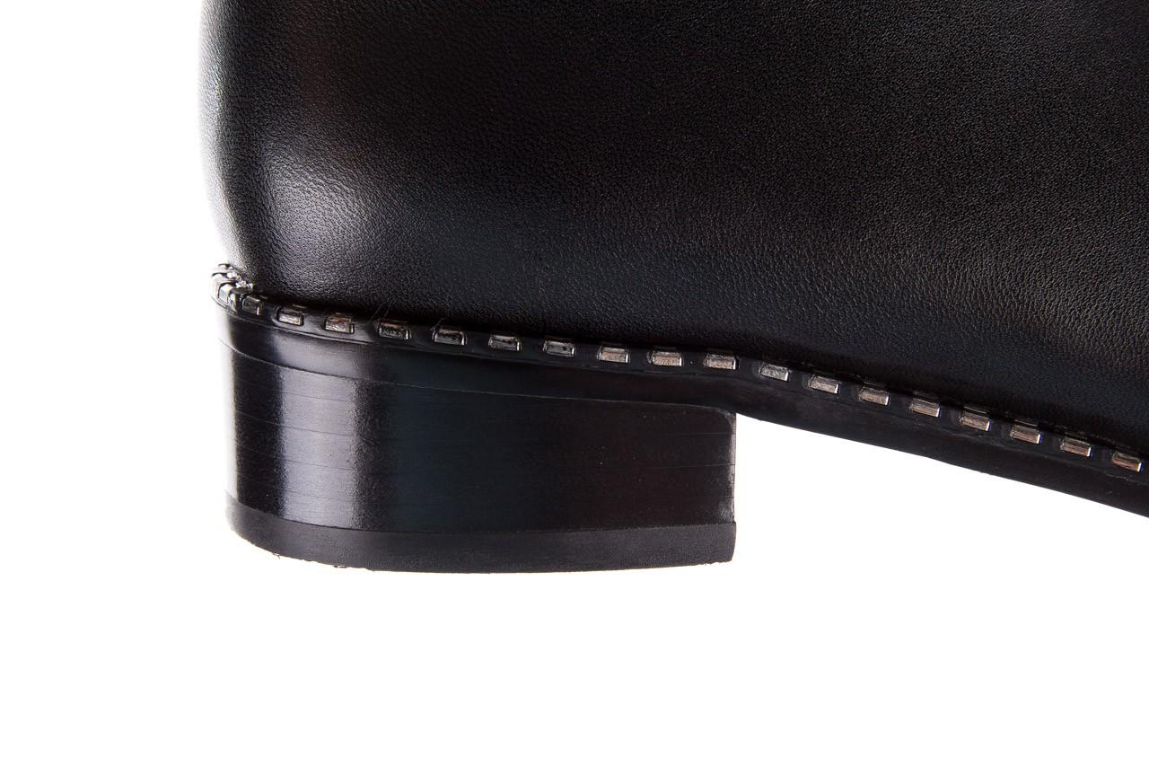 Botki sca'viola f-93 black, czarny, skóra naturalna  - sztyblety - botki - buty damskie - kobieta 16
