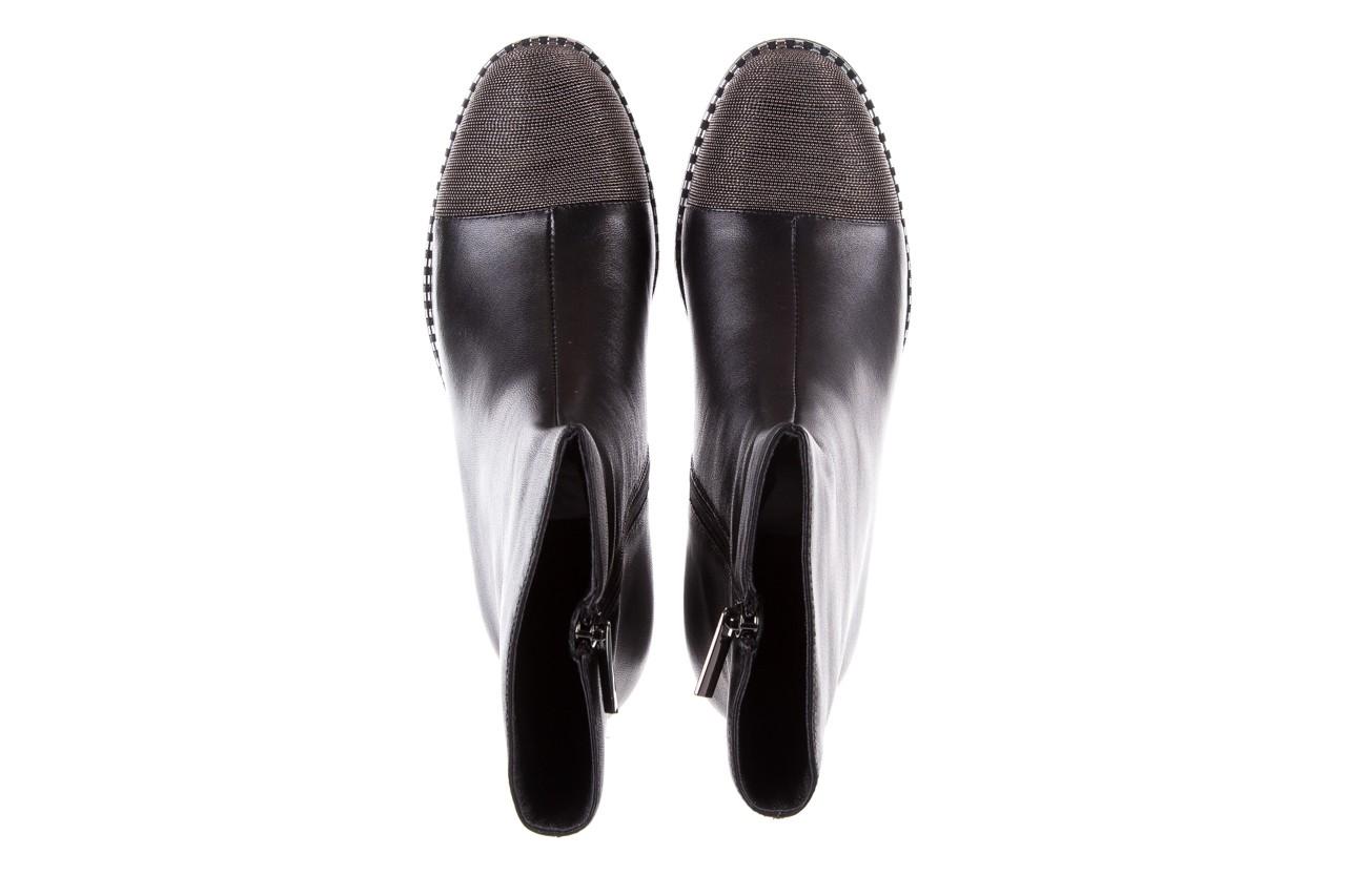 Botki sca'viola f-93 black, czarny, skóra naturalna  - sztyblety - botki - buty damskie - kobieta 15