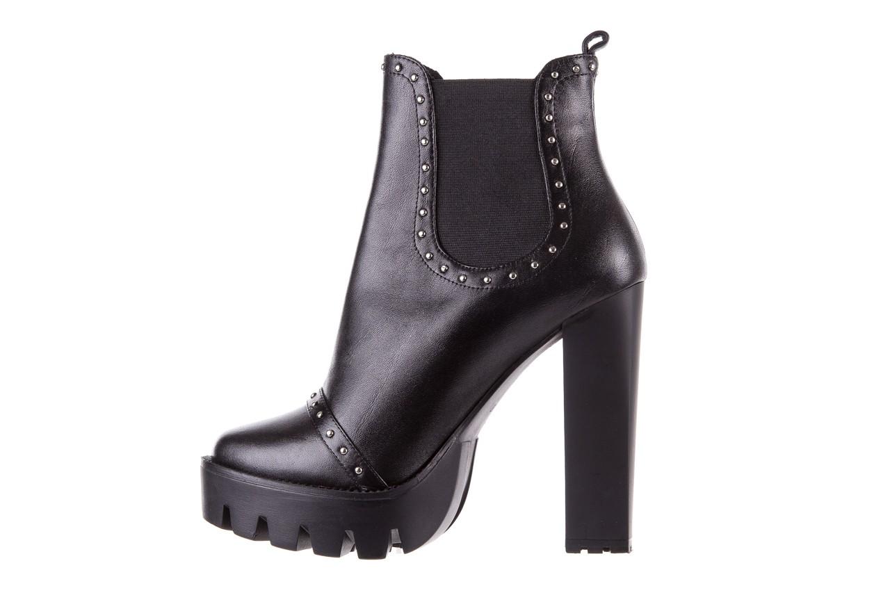 Botki bayla-176 8557 czarne botki, skóra naturalna  - biker - botki - buty damskie - kobieta 12