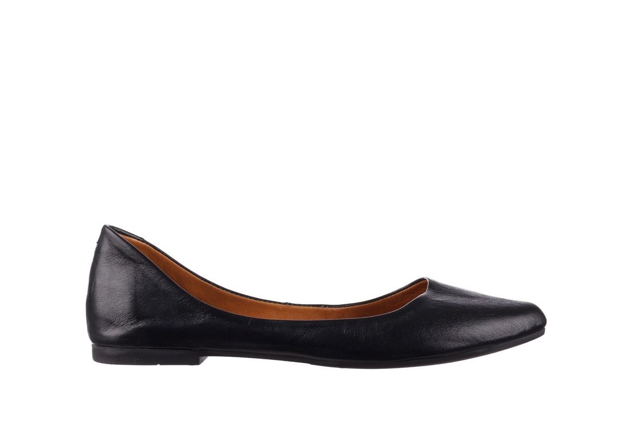 Baleriny bayla-161 066 1000 3 20 black, czarny, skóra naturalna  - skórzane - baleriny - buty damskie - kobieta 8