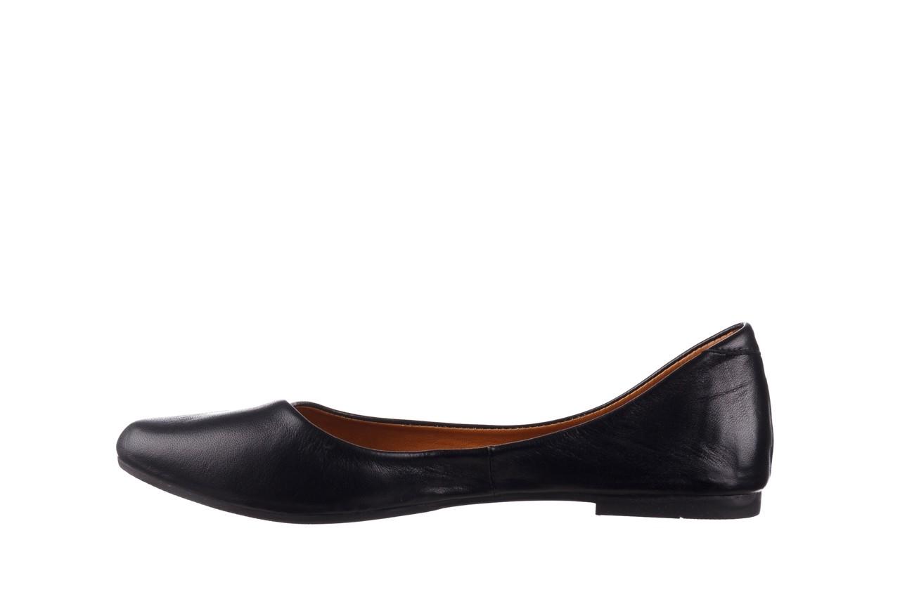 Baleriny bayla-161 066 1000 3 20 black, czarny, skóra naturalna  - skórzane - baleriny - buty damskie - kobieta 10