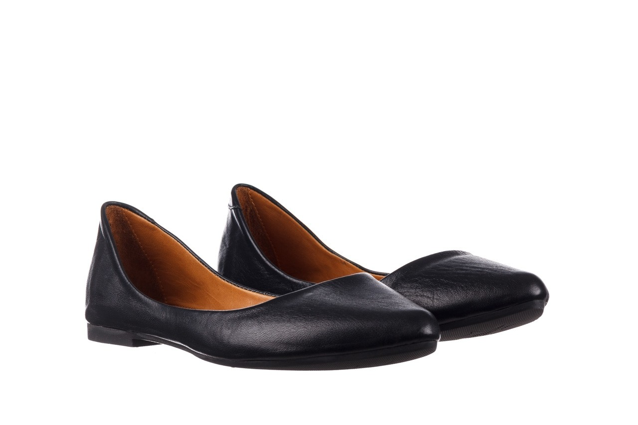 Baleriny bayla-161 066 1000 3 20 black, czarny, skóra naturalna  - skórzane - baleriny - buty damskie - kobieta 9