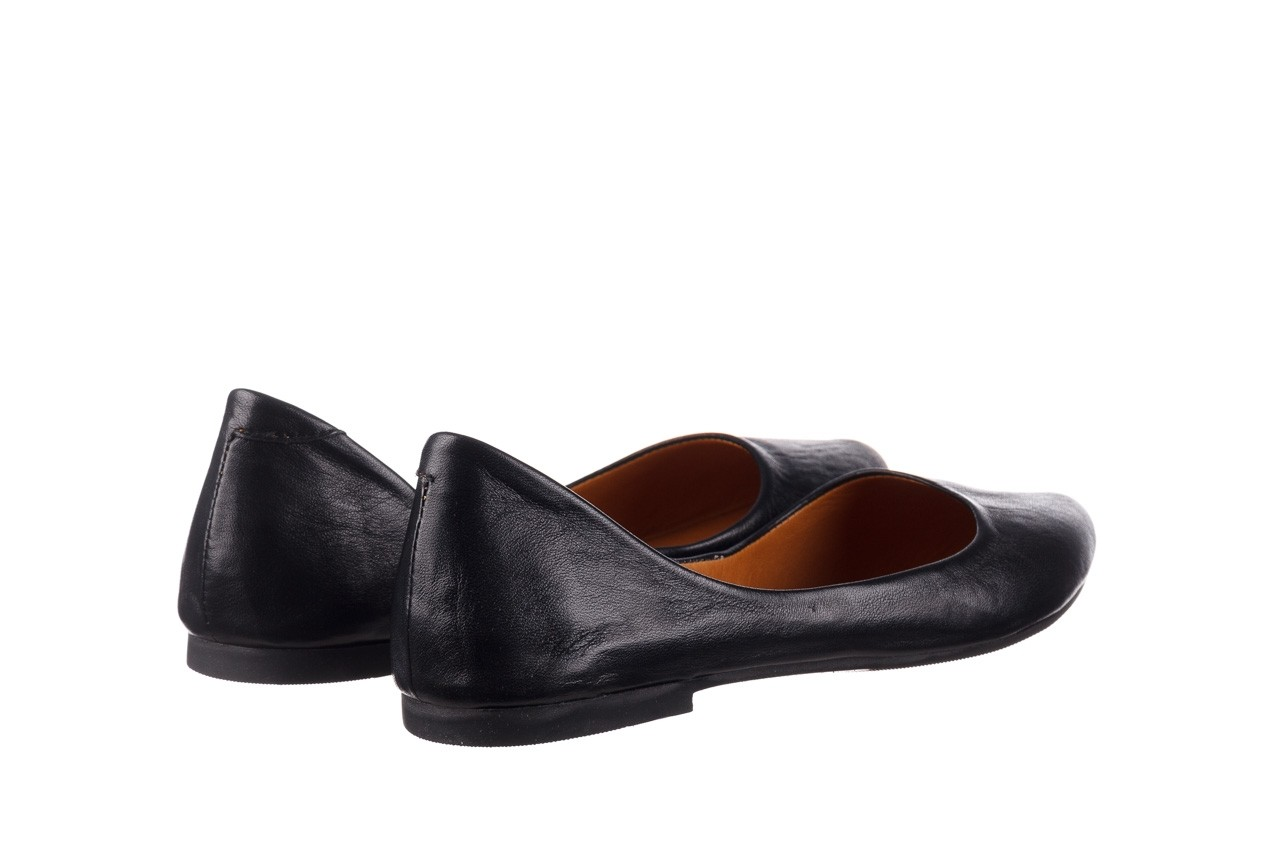 Baleriny bayla-161 066 1000 3 20 black, czarny, skóra naturalna  - skórzane - baleriny - buty damskie - kobieta 11