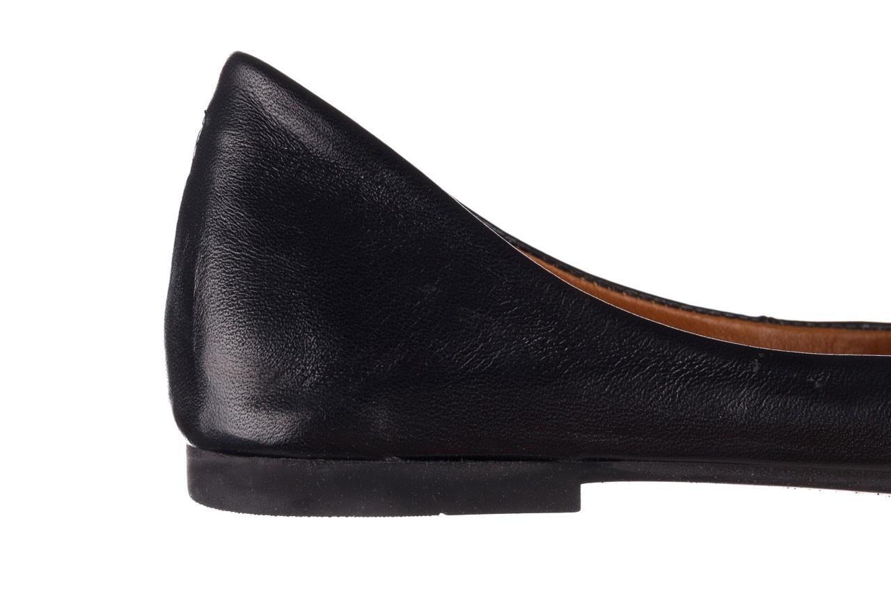 Baleriny bayla-161 066 1000 3 20 black, czarny, skóra naturalna  - skórzane - baleriny - buty damskie - kobieta 14