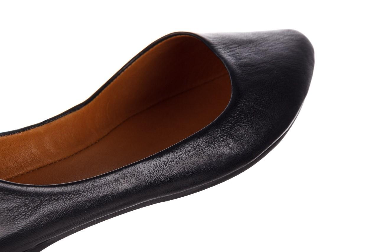 Baleriny bayla-161 066 1000 3 20 black, czarny, skóra naturalna  - skórzane - baleriny - buty damskie - kobieta 15