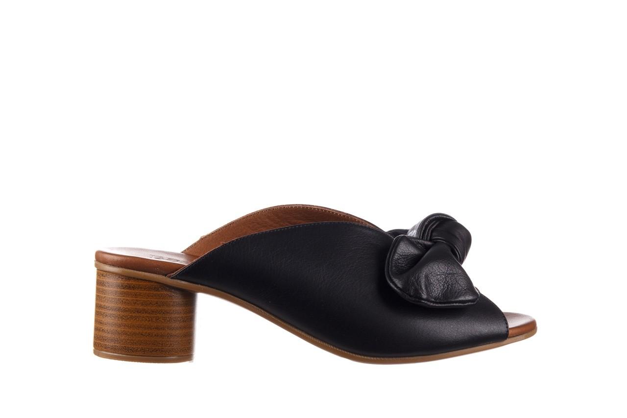 Klapki bayla-161 061 1029 black, czarny, skóra naturalna 8