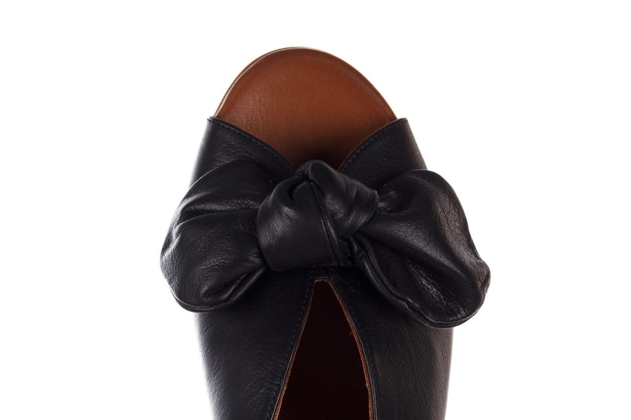 Klapki bayla-161 061 1029 black, czarny, skóra naturalna 15