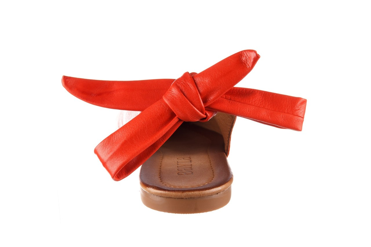 Sandały bayla-161 066 504 310 red, czerwony, skóra naturalna 13