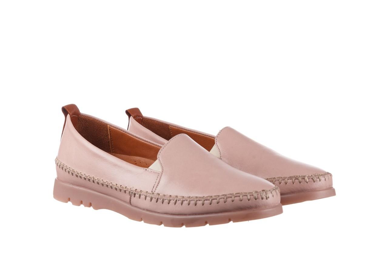 Półbuty bayla-161 078 14305 5 40 nude, róż, skóra naturalna  - skórzane - półbuty - buty damskie - kobieta 9