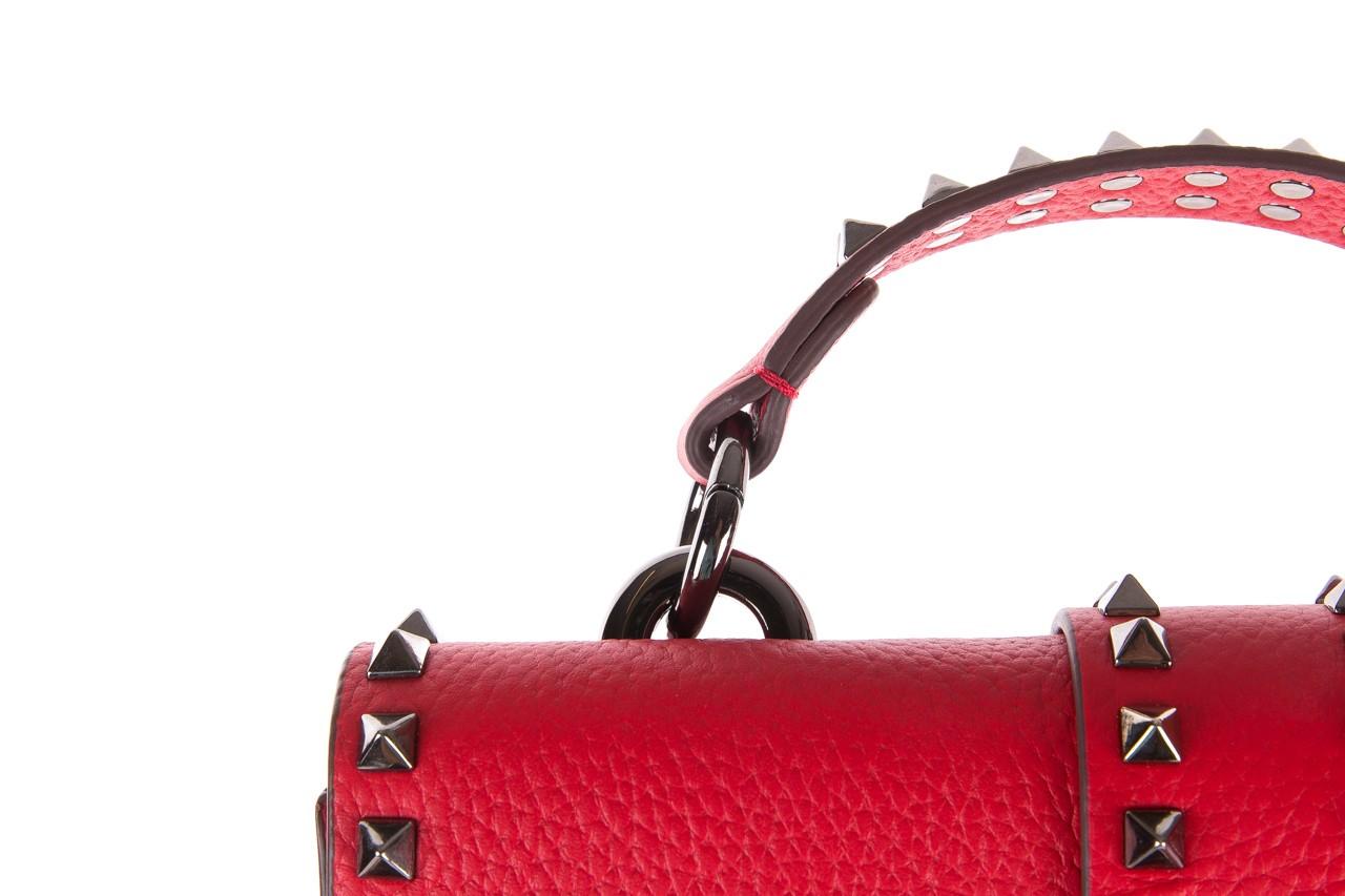 Torebka sca'viola torebka t-18 red, czerwony, skóra naturalna  - sca`viola - nasze marki 13
