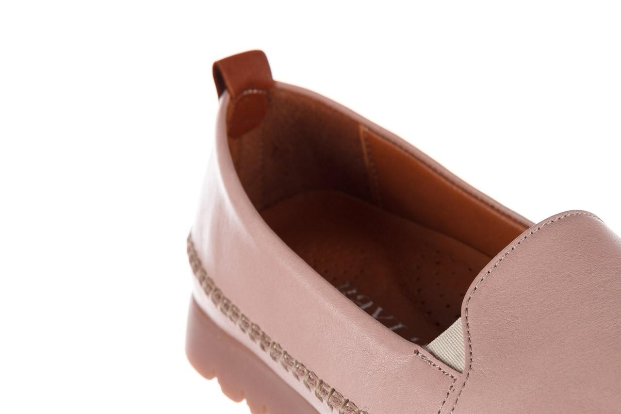 Półbuty bayla-161 078 14305 5 40 nude, róż, skóra naturalna  - skórzane - półbuty - buty damskie - kobieta 15