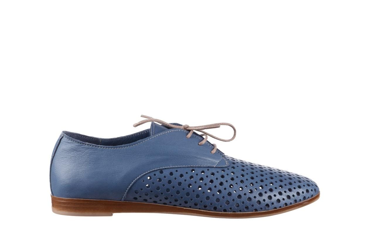 Półbuty bayla-161 138 80129 denim, niebieski, skóra naturalna - skórzane - półbuty - buty damskie - kobieta 8