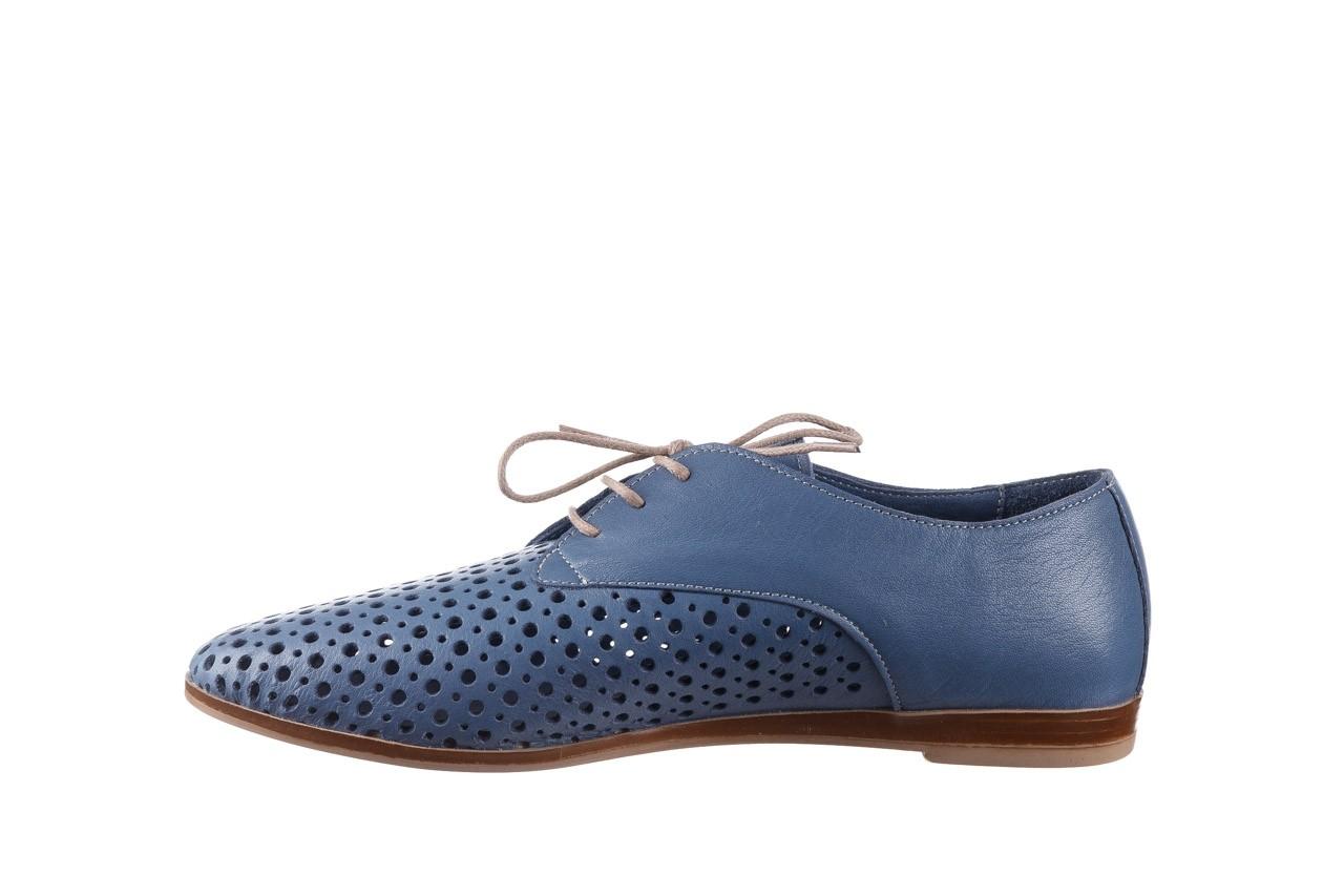 Półbuty bayla-161 138 80129 denim, niebieski, skóra naturalna - skórzane - półbuty - buty damskie - kobieta 10